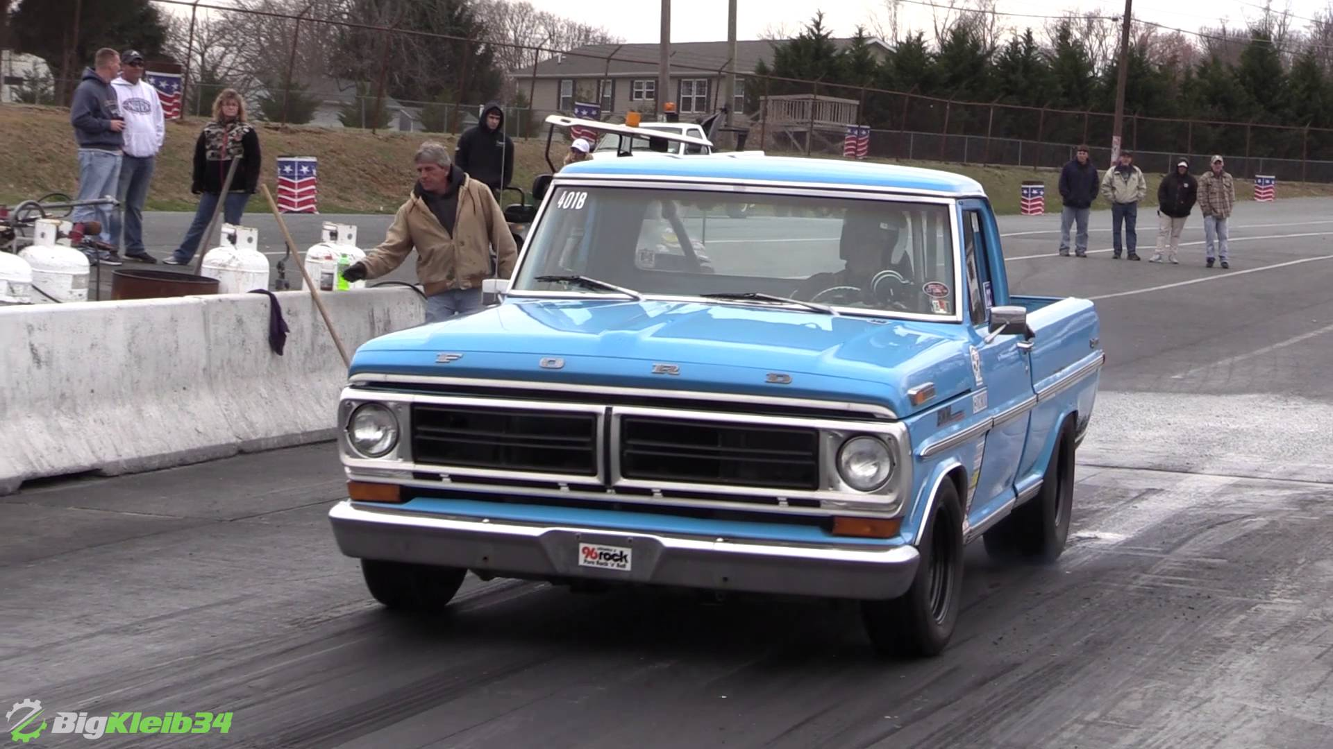 This Old School Ford Pickup Is A LOT Faster That You Might Think