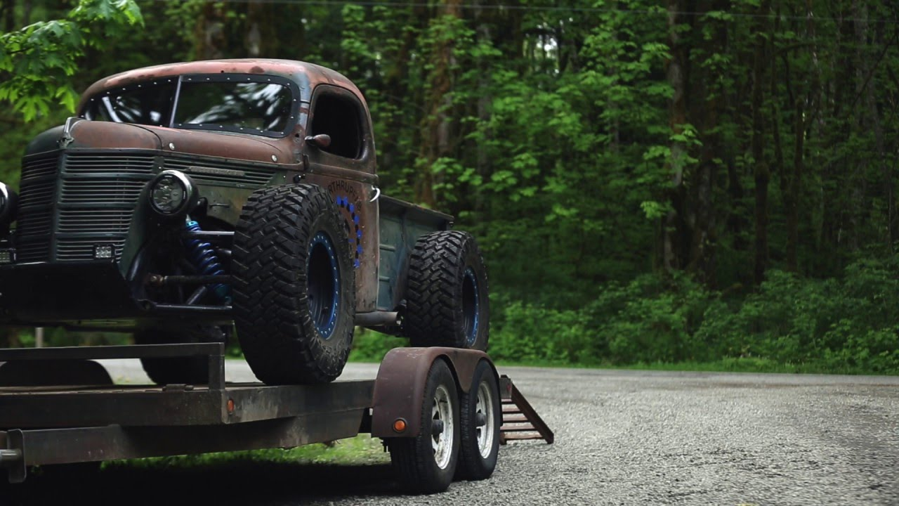 Check Out The Baddest Trophy Truck Rat Rod To Have Ever Hit The Streets!