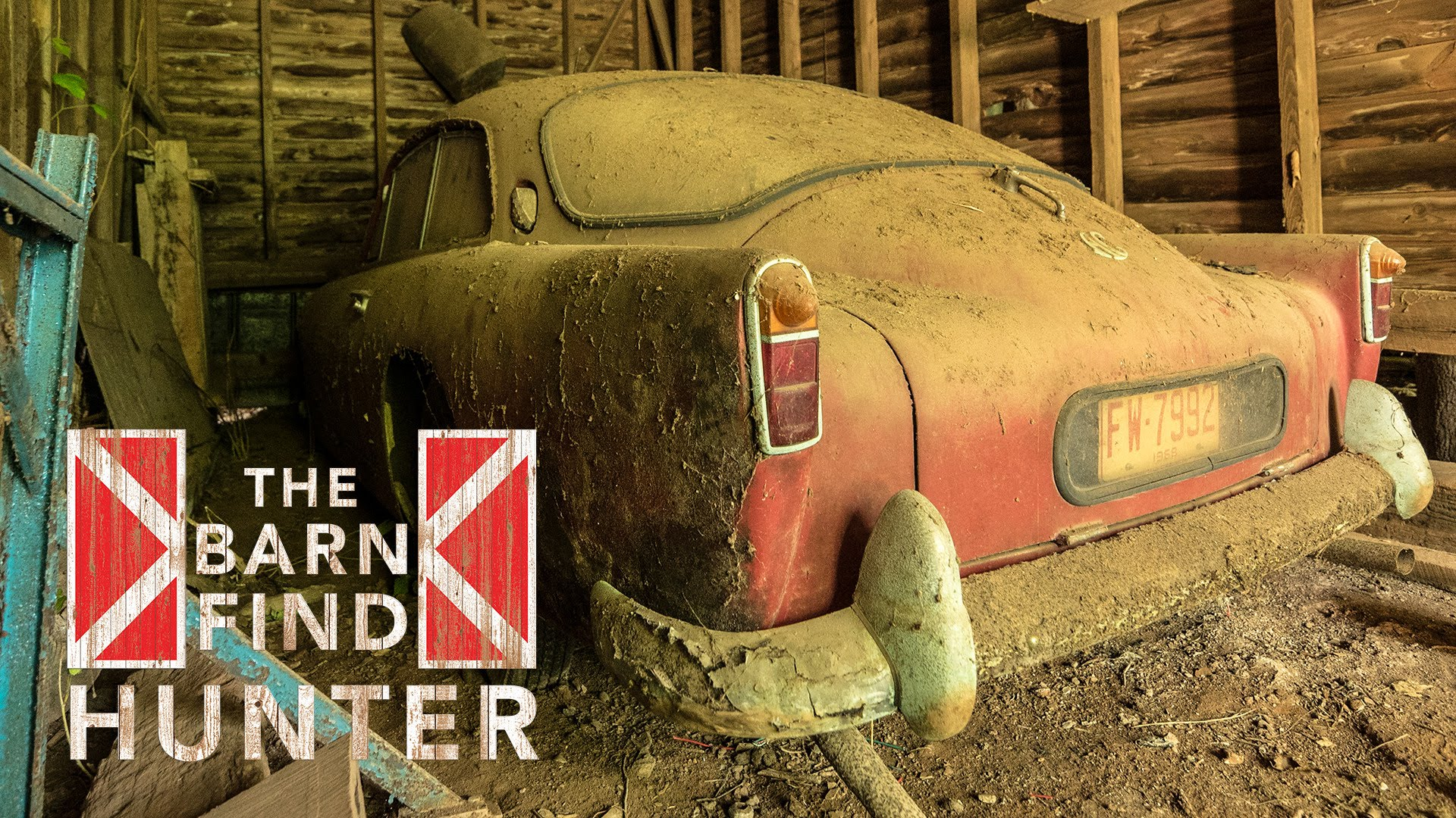 Check Out The DUST In This Barn Find Hunter From North Carolina