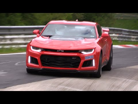 2017 Chevy Camaro Zl1 Roars Like A Beast During A Test