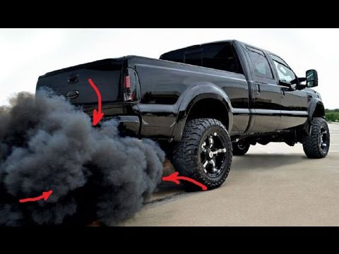 Turbo Diesel Trucks >> Ford F 350 Turbo Diesel Burnout Super Duty Crazy Truck