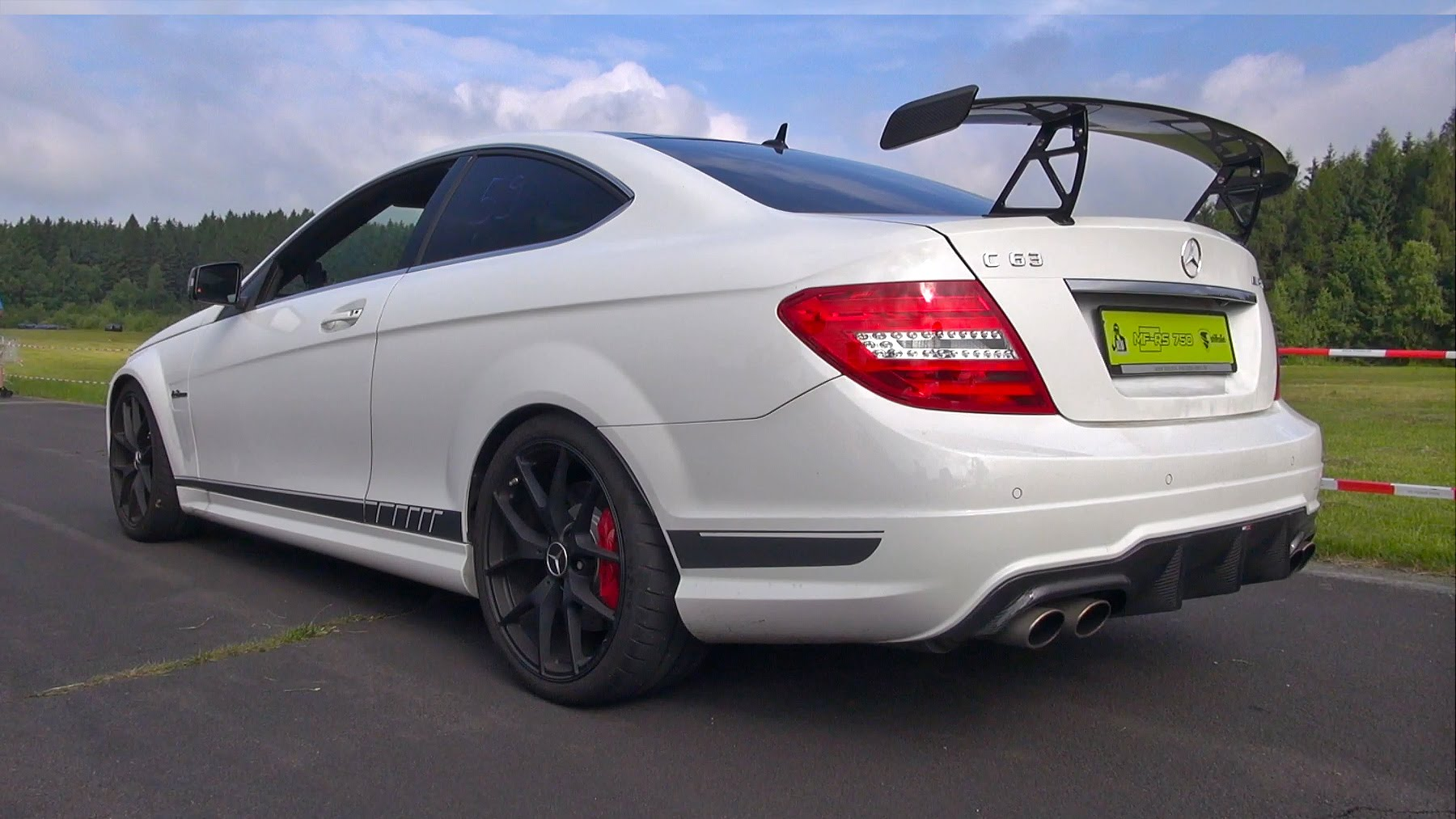 Mercedes-Benz C63 AMG Coupe 507 Edition With AlphaMale