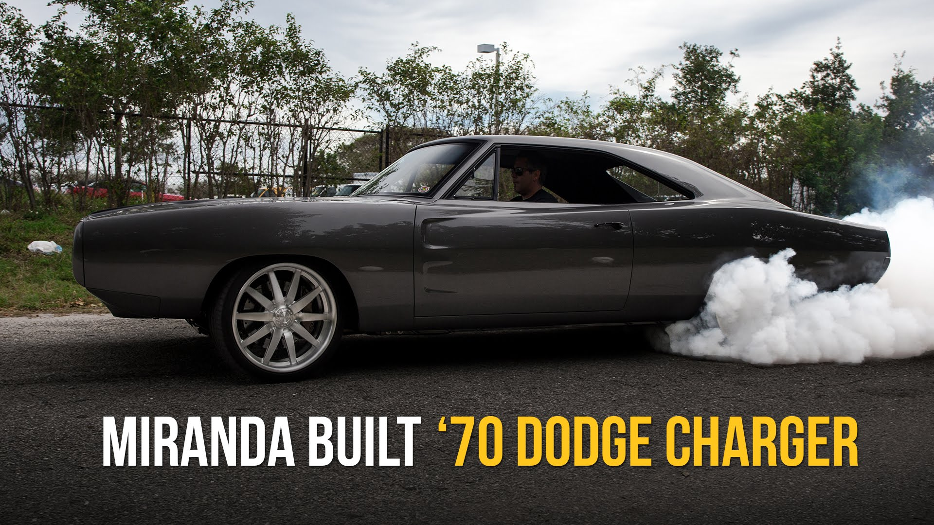 This Miranda Built 1970 Dodge Charger With E Level Air Management Is