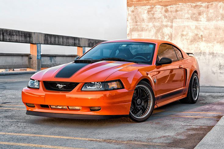 Mach on 2017 Ford Mustang Mach 1