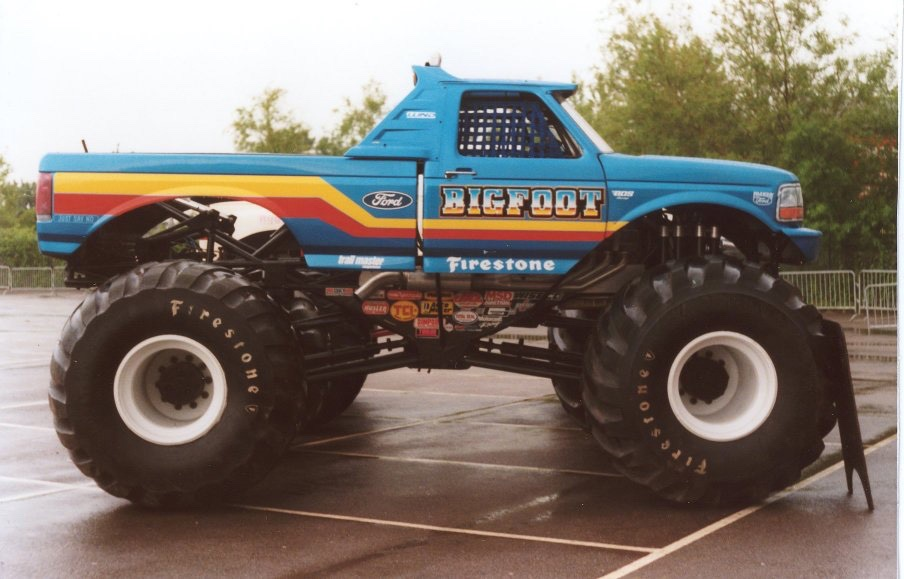 Listing All Trucks >> Top Ten Legendary Monster Trucks That Left Huge Mark In